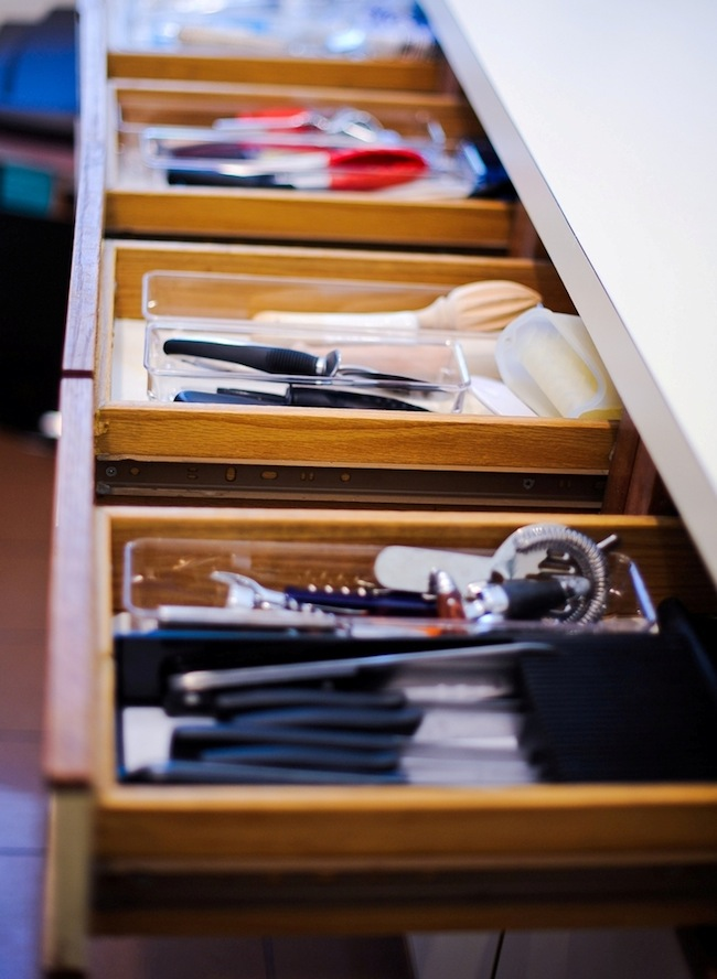 Organize Your Kitchen Drawers Fashionable Hostess