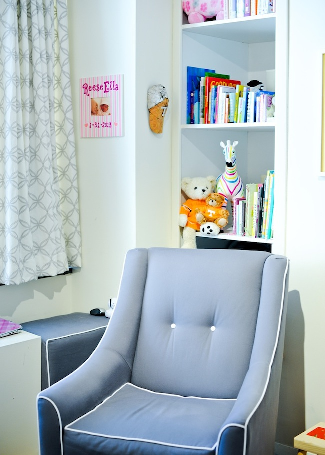 rocking chair from BuyBuyBaby