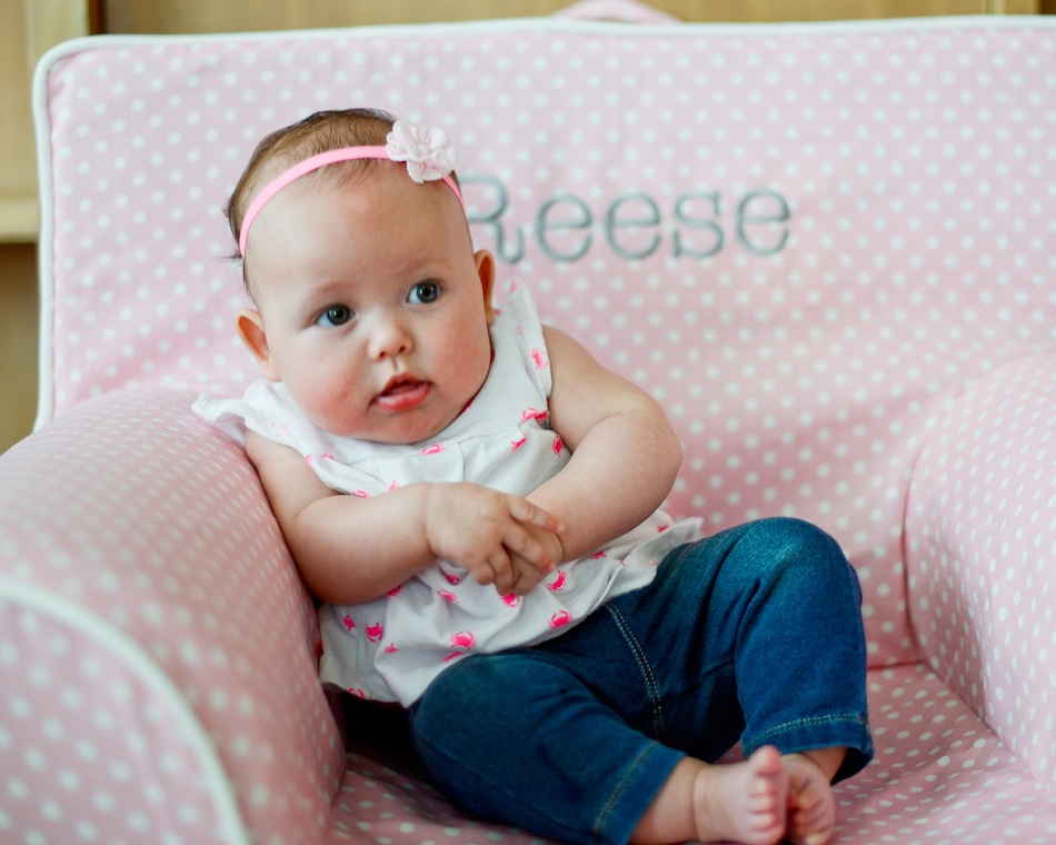 baby anywhere chair from PotteryBarn