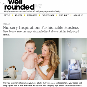 Featured on Well Rounded NY August 2015