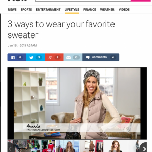Featured on AOL.com Lifestyle     January 2015