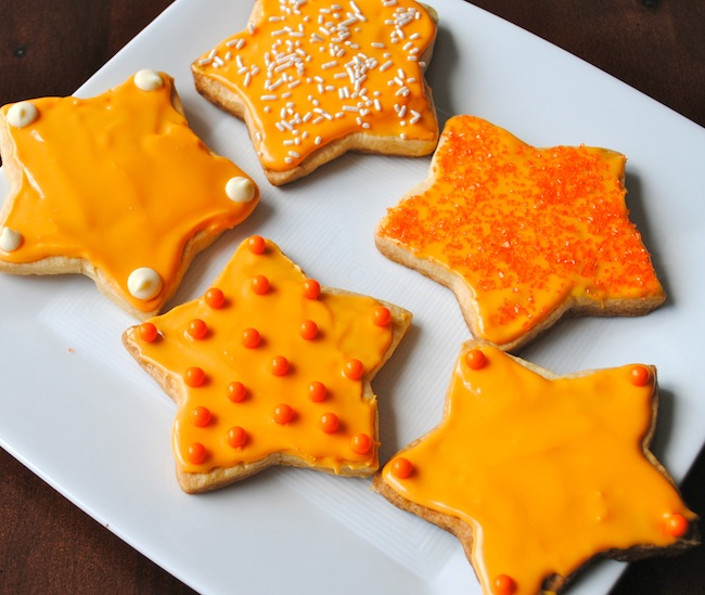 Sugar Cookies: Tailgate Edition