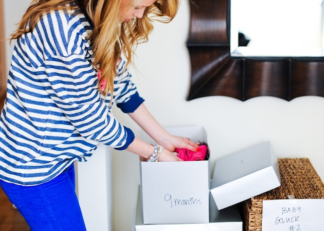 Organize your Baby Clothes