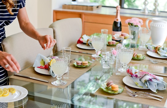 Set the Table: Au Revoir Summer