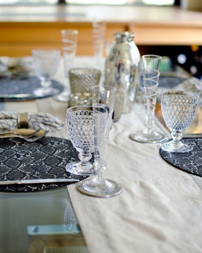 Set the Table: Silver Accents