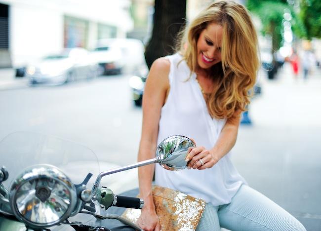 Mint Moped