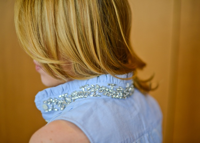 Styled 2 Ways: Sparkle Collar
