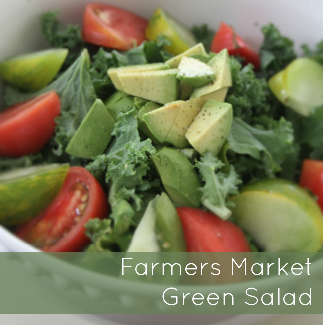 Farmers Market Green Salad