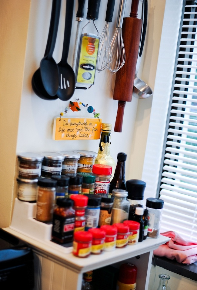 Organize your Spice Rack