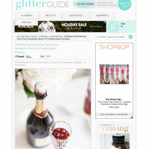 Glitter Guide Feature