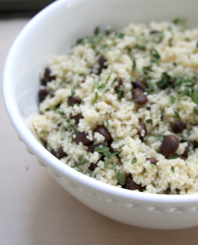 Black Bean Couscous