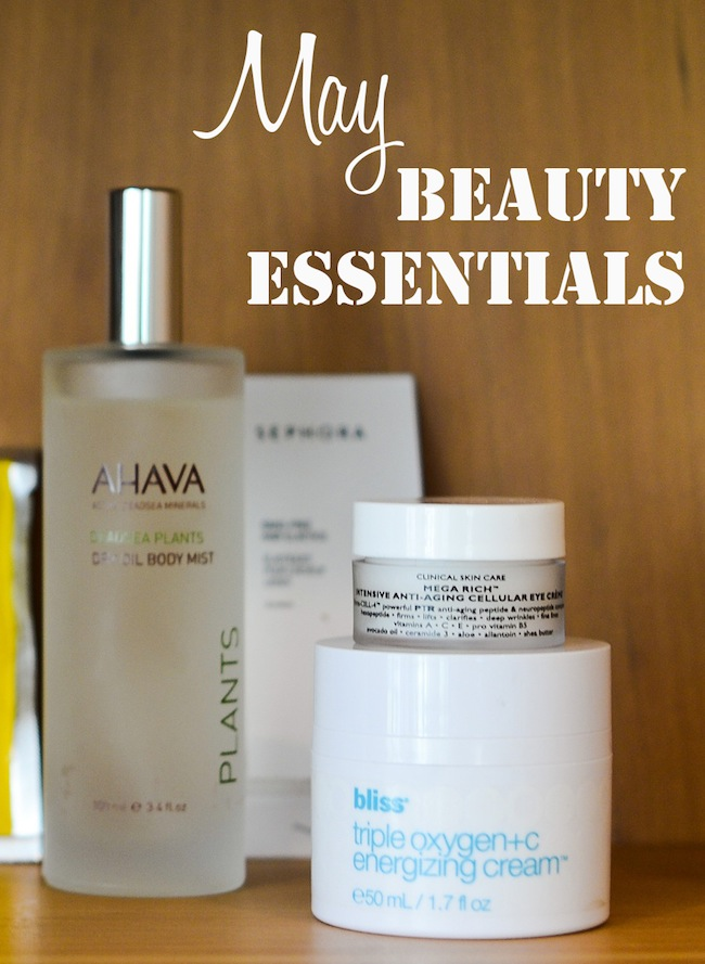 May Beauty Essentials