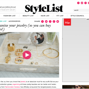 Featured on Stylelist.com     January 2015