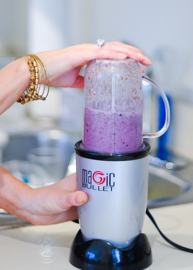 Mixed Berries Soy Smoothie