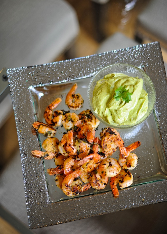 Grilled Cilantro Lime Shrimp