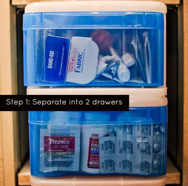 Organize your First Aid
