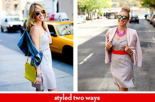 Styled 2 ways: Spring Dress