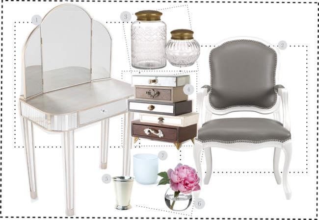 FH Decor Idea: Create a Vanity