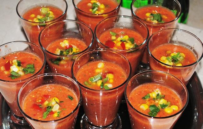 Spanish Tomato & Cucumber Gazpacho