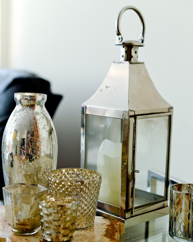 Side Table Decor : FH Decor Idea: Silver Side Table Accents