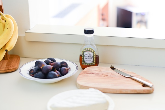 Brie with Figs and Agave by FashionableHostess.com