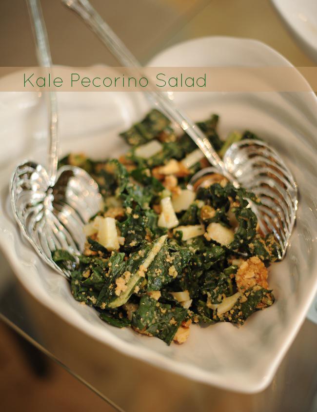 Kale Pecorino Salad