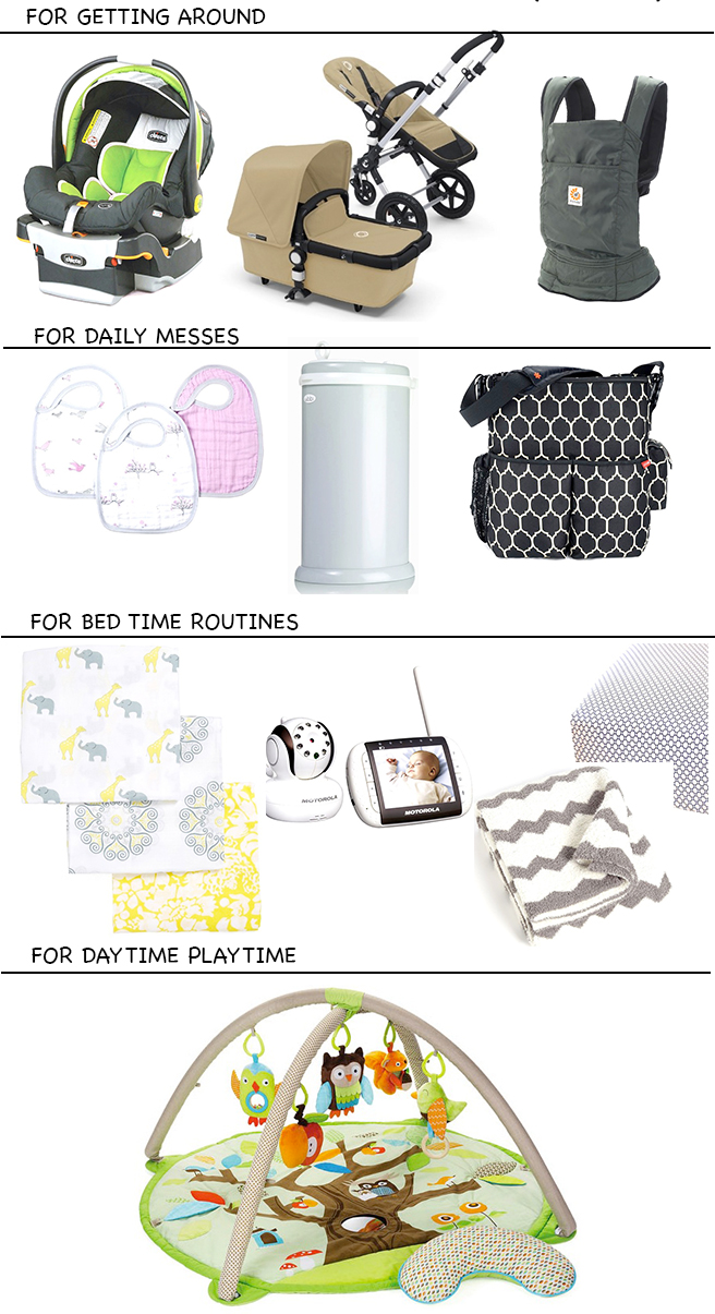 FashionableHostess.com Baby Essentials 0-3 Months