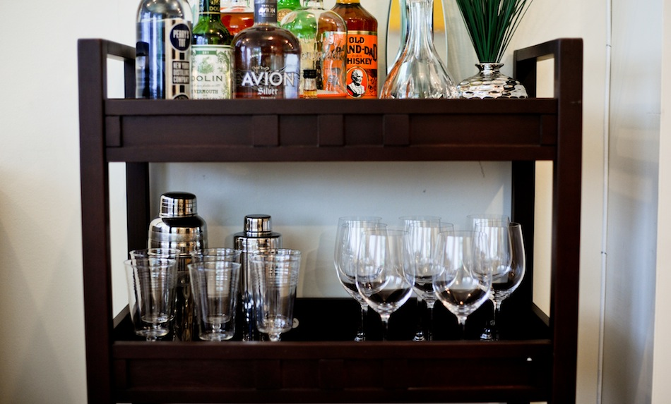 Everything You Need For Perfectly Styled Bar Cart Fashionable Hostess