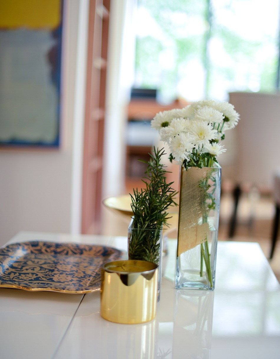 thyme is a great substitute for florals