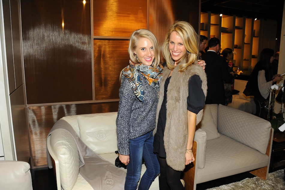 Madeline Wolf, Amanda Gluck at The Luxury Living New York Flagship Grand Opening