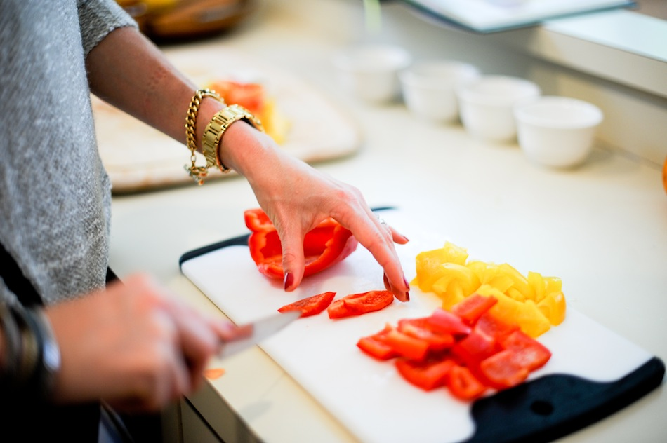 Red Bell Pepper  // FashionableHostess.com