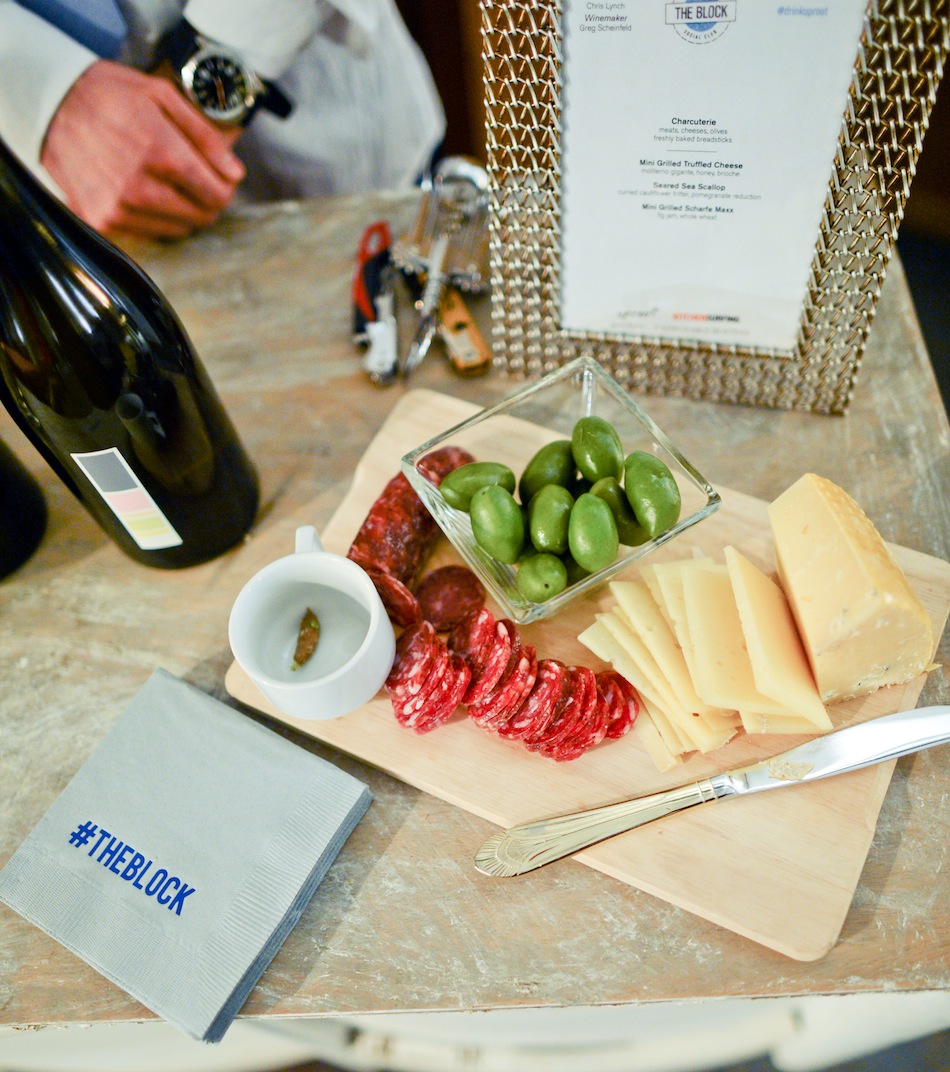 Cheese plate // FashionableHostess.com