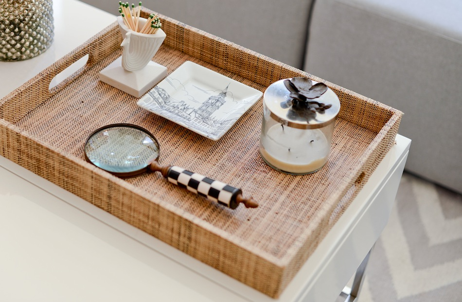 Invest in a tray  // FashionableHostess.com