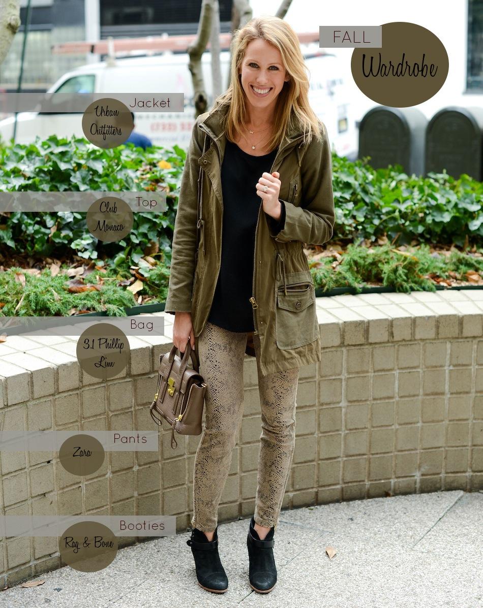 My Daily Wardrobe for Fall // FashionableHostess.com