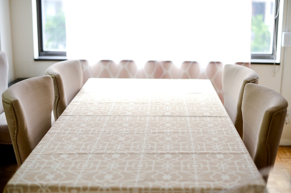 Bed Bath & Beyond Table Cloth // FashionableHostess.com