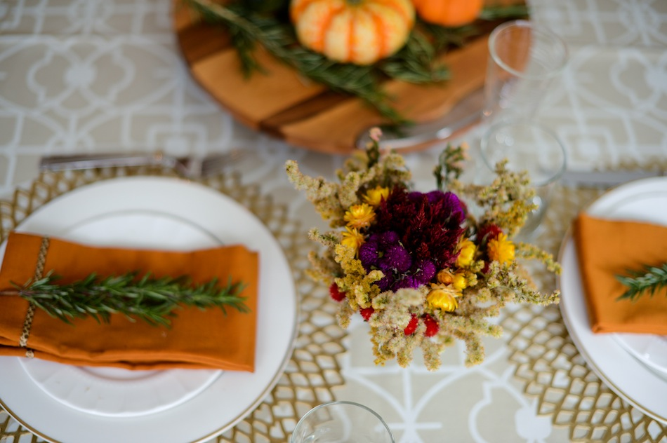 Fall Table Setting // FashionableHostess.com