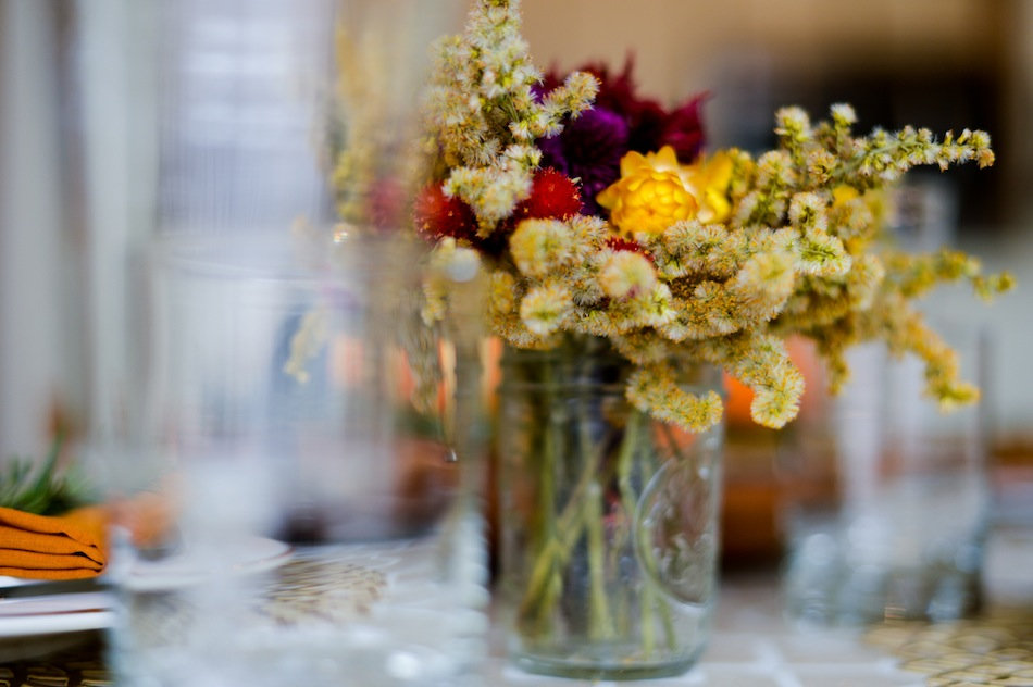 Harvest Flowers // FashionableHostess.com
