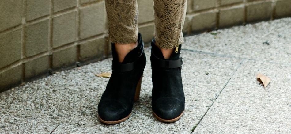 Rag & Bone Booties // FashionableHostess.com