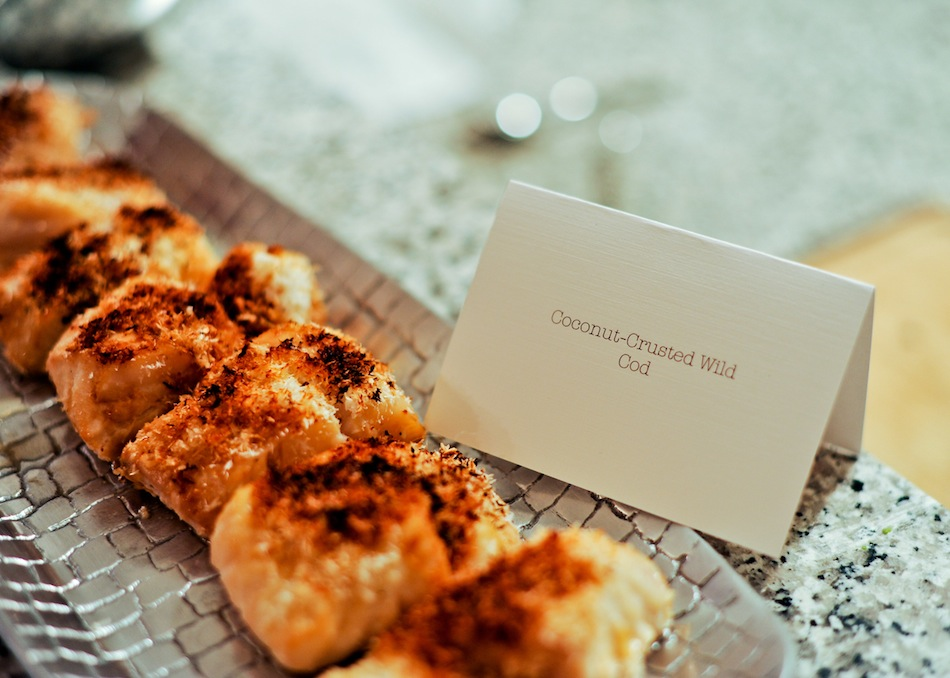 Coconut Crusted Cod by FashionableHostess.com