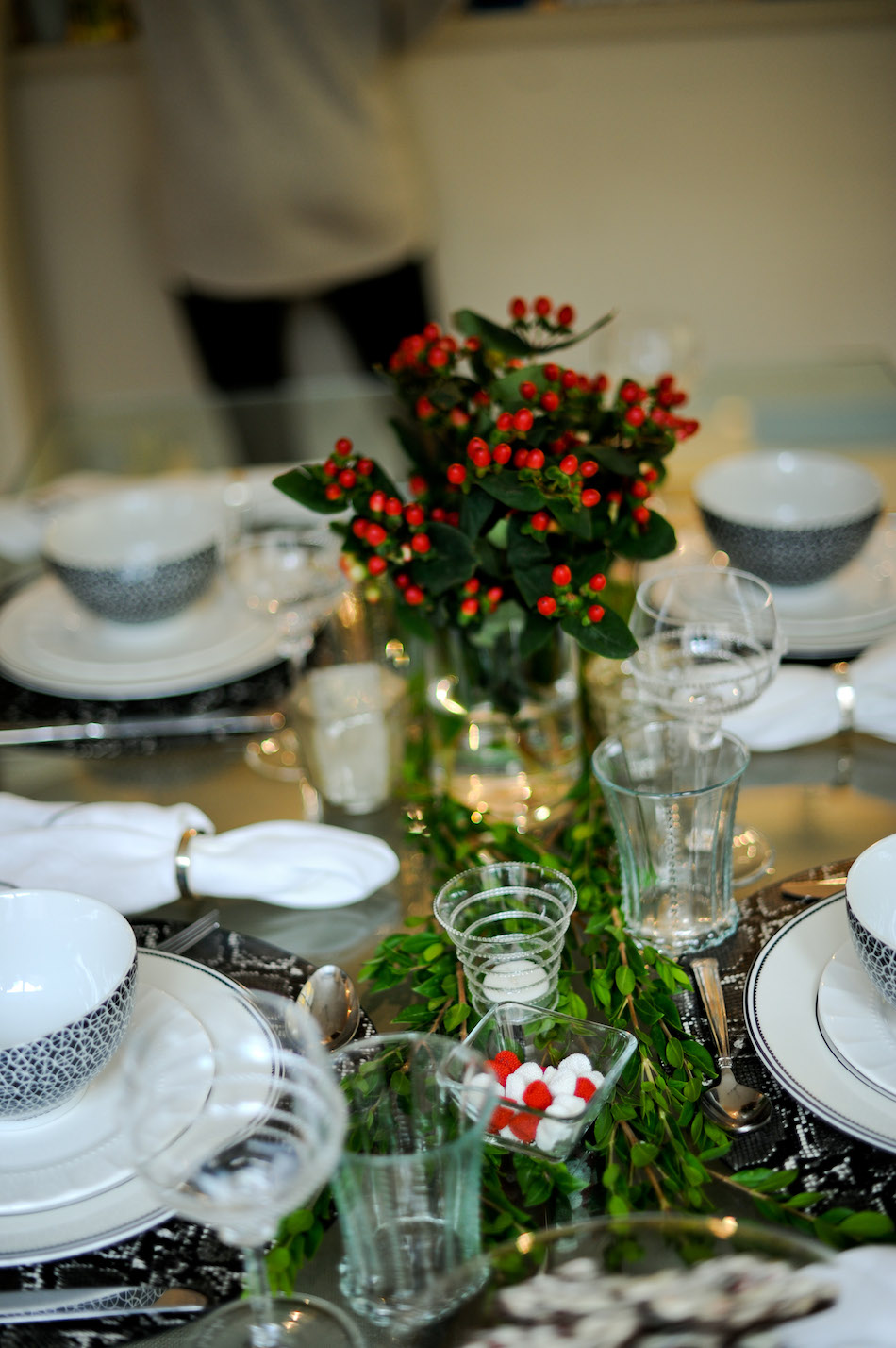 Holiday Table Details