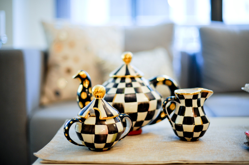 Mackenzie Childs Coffee Set // FashionableHostess.com