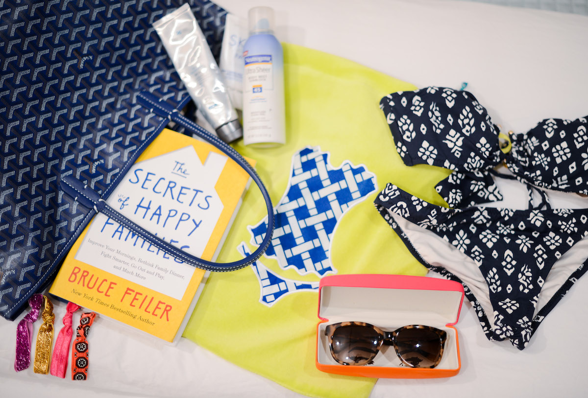Beach Bag Essentials // FashionableHostess.com