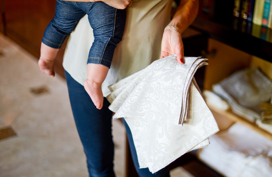 Linen Printed napkins