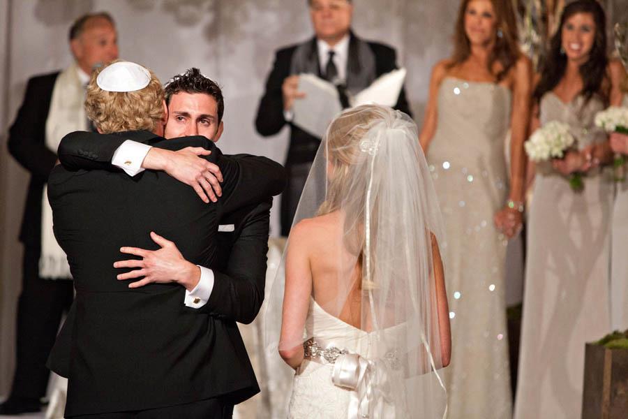 Father-in-law, Future Son Hug