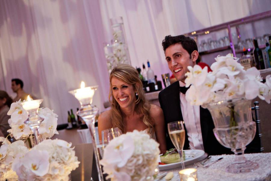 Bride + Groom Sweetheart Table