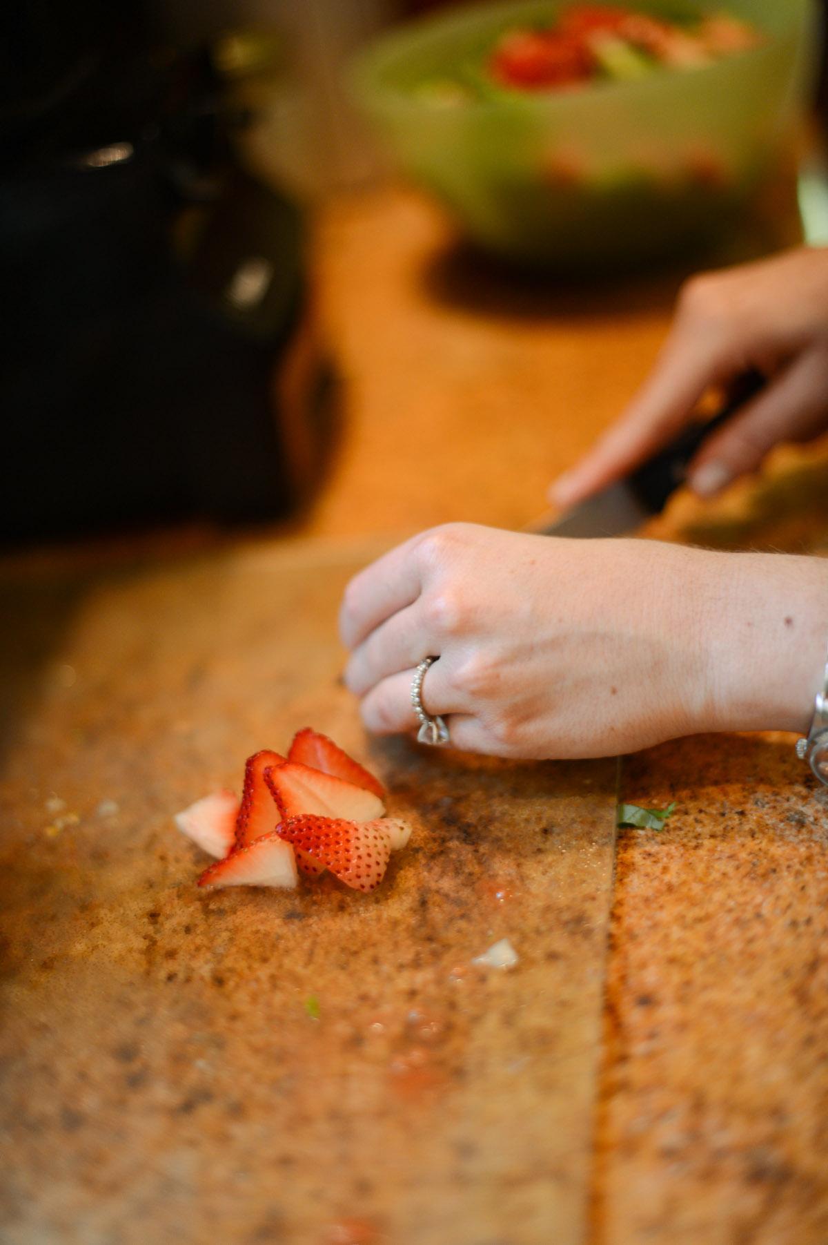 Fresh Strawberries // FashionableHostess.com