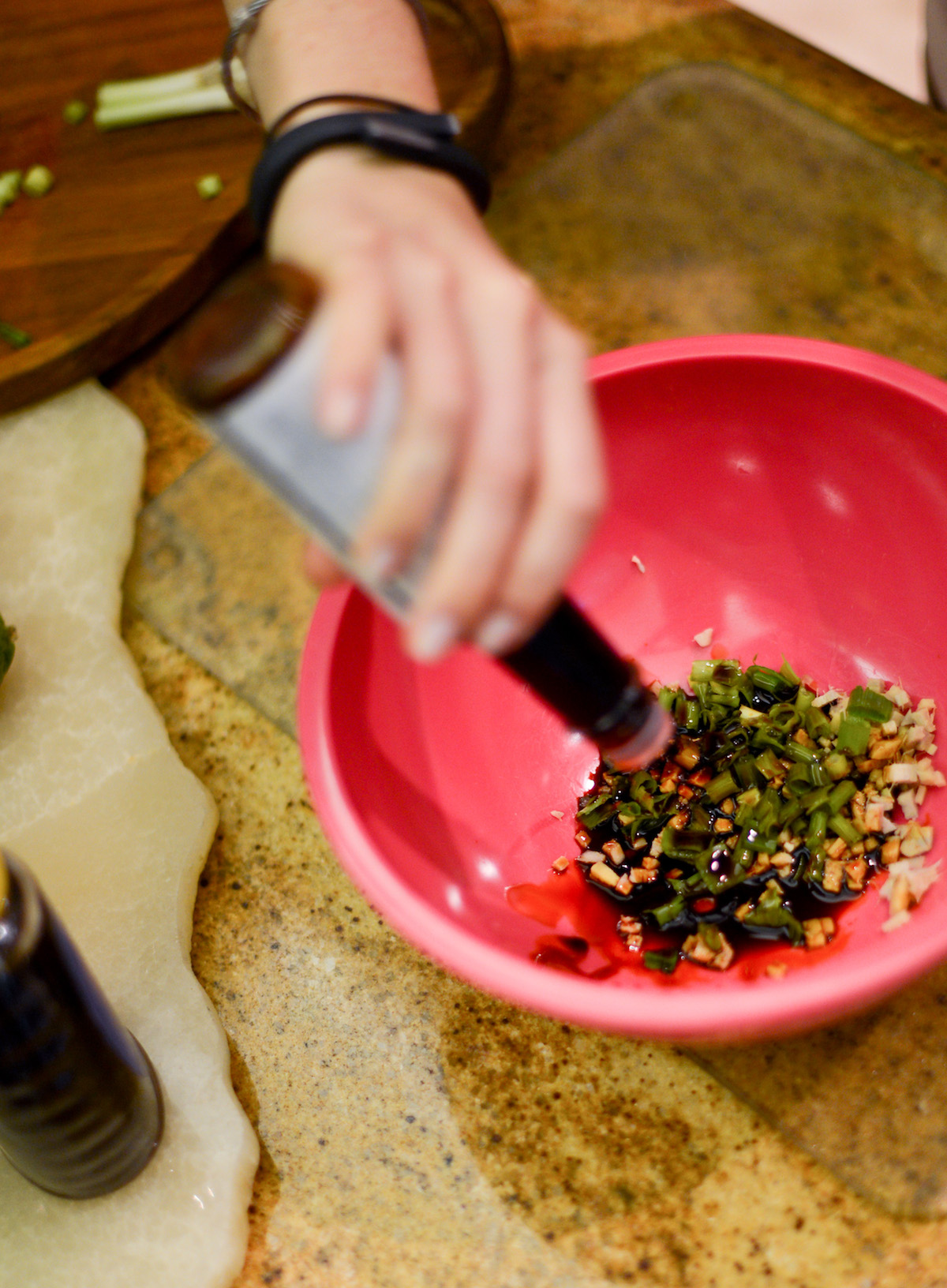 Creating Marinade - Asian Glazed Salmon by FashionableHostess.com