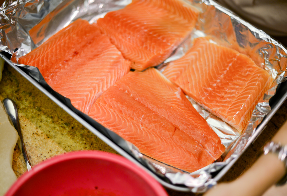 Raw Salmon - Asian Glazed Salmon Recipe
