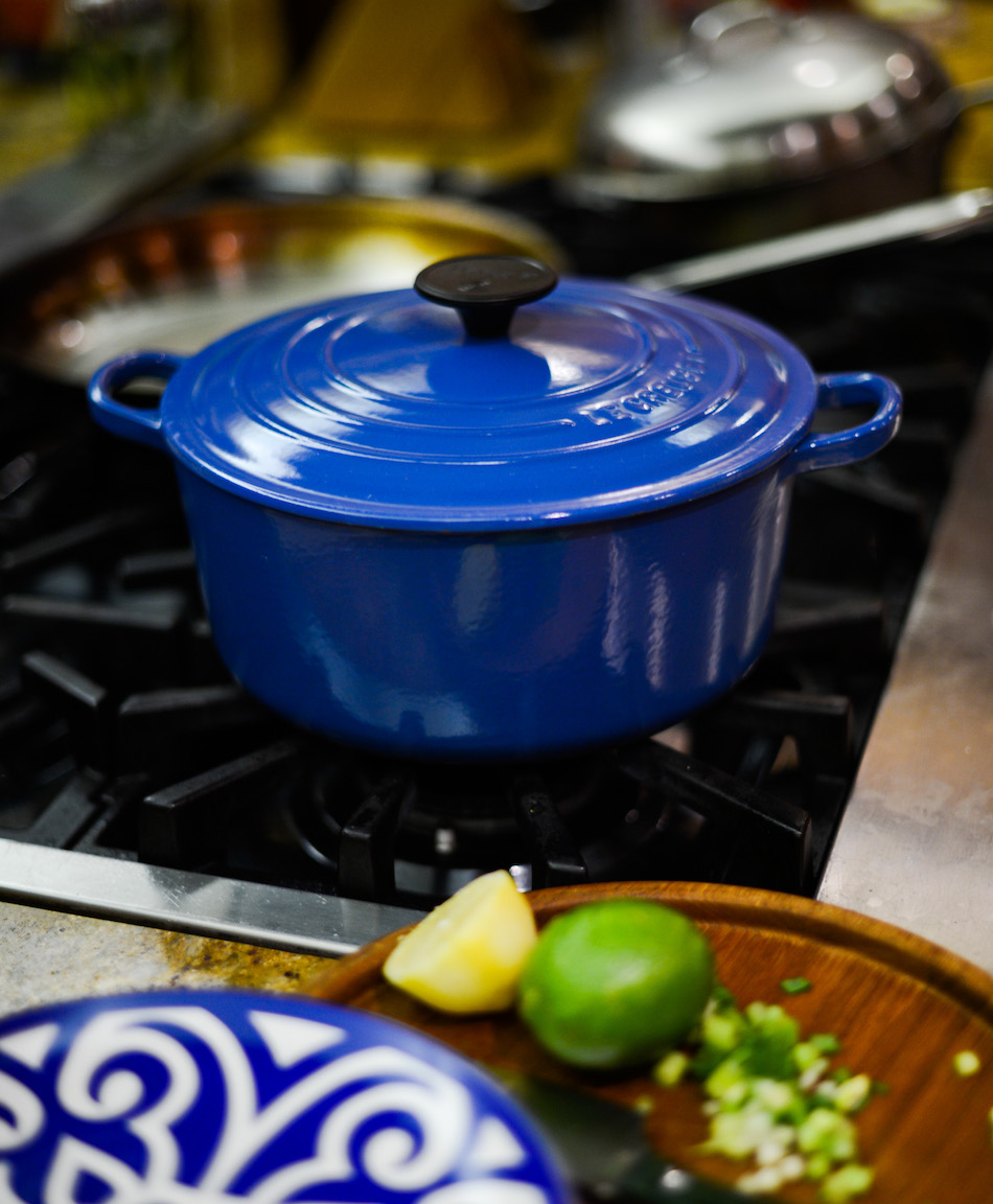 Allow your Le Creuset to cook