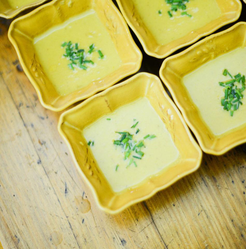 Le Creuset Artichoke Soup